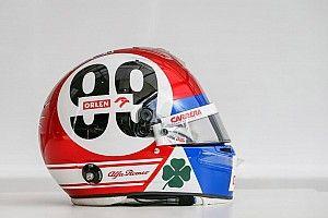 Los cascos especiales de los pilotos de F1 en Imola