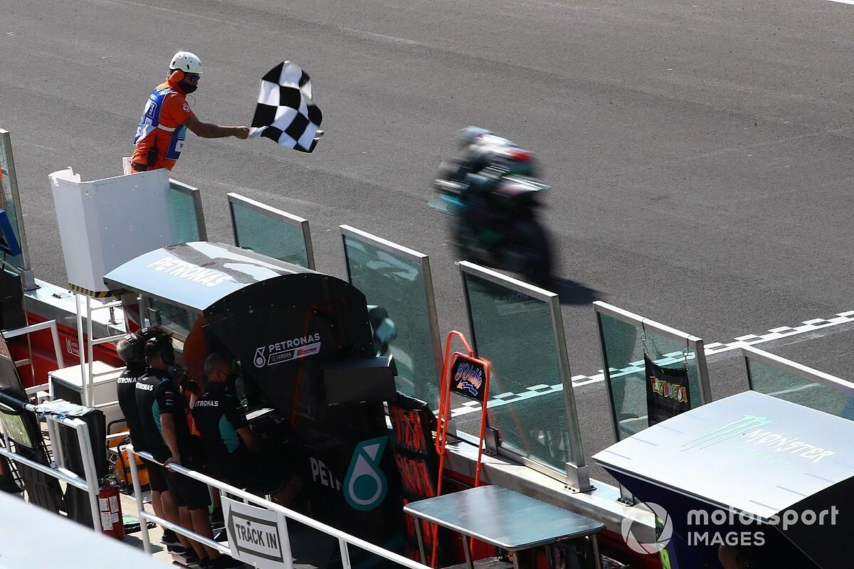 MotoGP: Morbidelli domina em Misano e Rossi deixa pódio escapar no fim