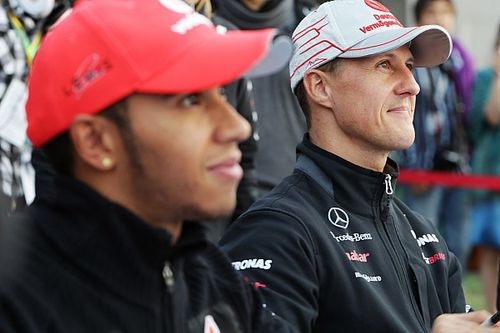 Hamilton now understands Schumacher's role in F1 success