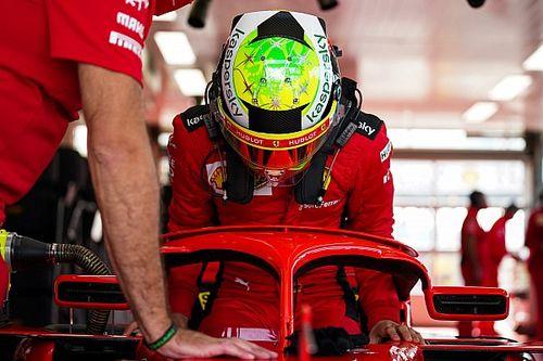 Ferrari could wait until Abu Dhabi to run Schumacher, Ilott