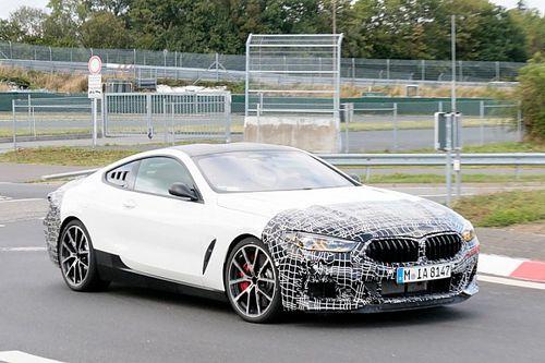 BMW Serie 8, le foto spia fanno pensare al motore centrale