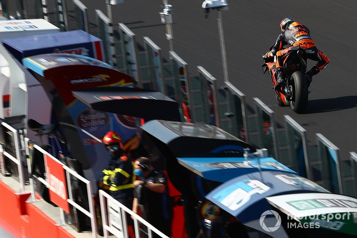 Las fotos del inicio del GP de San Marino de MotoGP