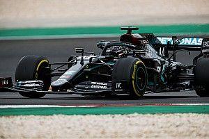 Un calambre llevó a Hamilton a tener que desacelerar en la recta