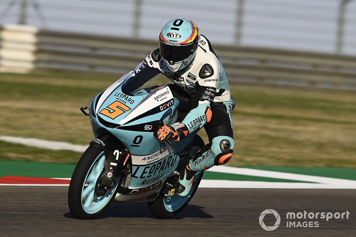Masia wint spectaculaire Moto3-race in Aragon