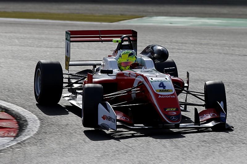 Mick Schumacher vence as três corridas da F3 em Nurburgring