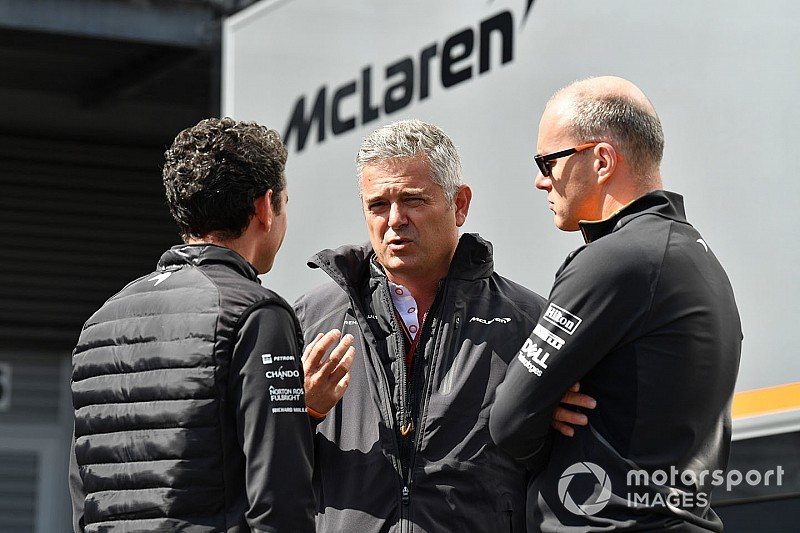 Egyelőre mindenki nagyon óvatos a McLarennél az új autót illetően