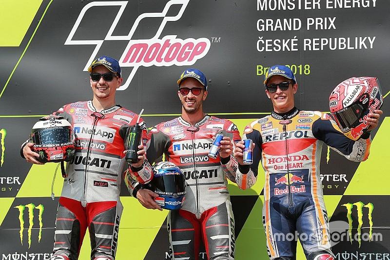 Marquez wilde geen onnodige risico's nemen in strijd om winst Brno