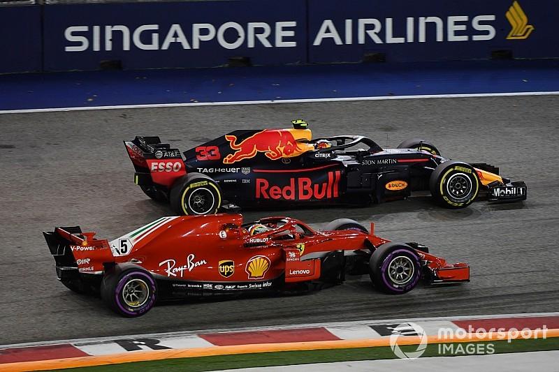 """Red Bull: Nach Singapur 2018 """"realistisch"""" nur noch eine Siegchance"""