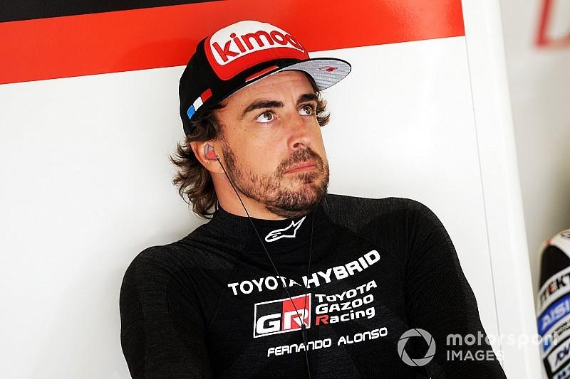 """Alonso: """"En todos los sitios el día que no estás, te echan de menos"""""""