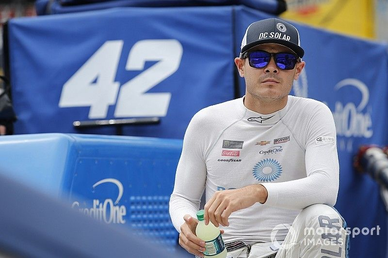 """Kyle Larson: Second was """"12 to 15 spots"""" better than we deserved"""