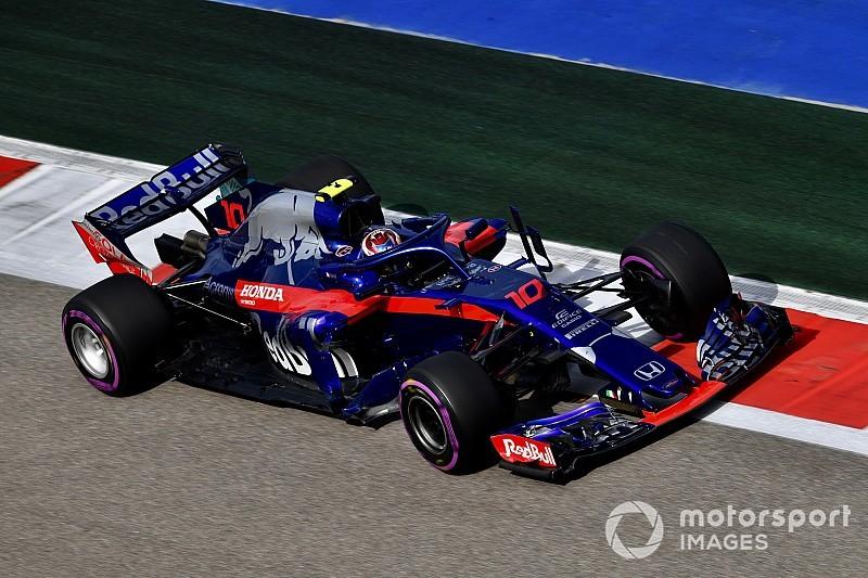 F1ロシアGP速報:FP3はハミルトン首位。ガスリーは12番手