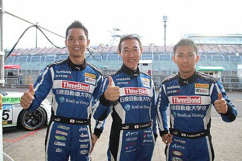24号車GT-Rの藤井誠暢「予選前にセッティングを大幅に変えた」
