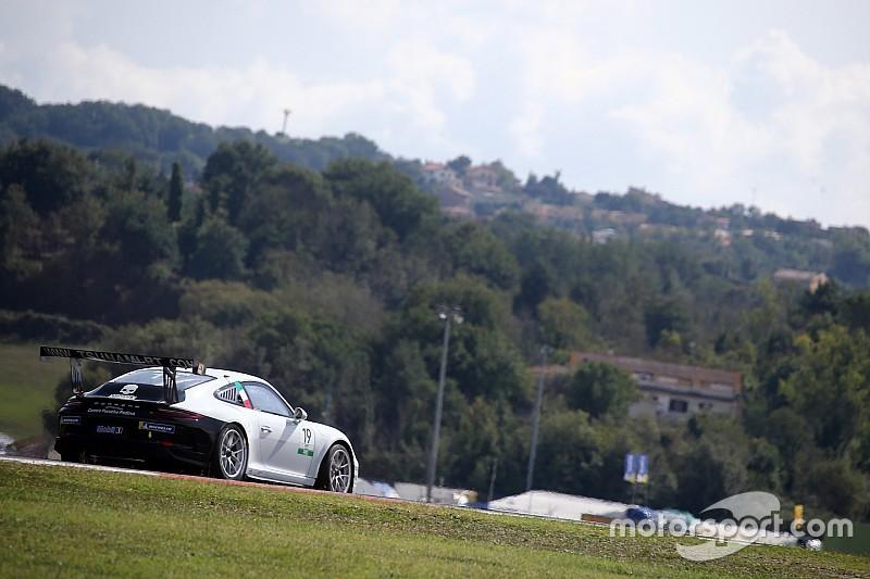 Carrera Cup italia, Vallelunga: pole record di Mosca