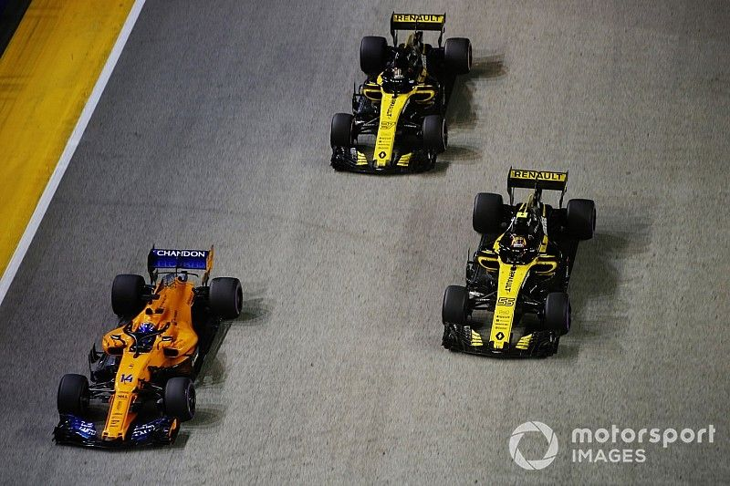 """Sainz, contento con el 8º puesto... o """"2º, tras Fernando"""""""