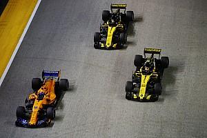Renault verrast door matige vorm McLaren in 2018