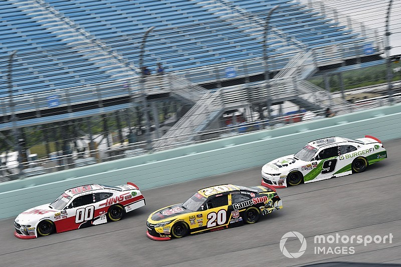 "Christopher Bell: ""I wasn't good enough"" to win at Homestead"