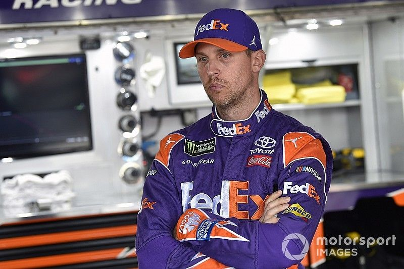 """Hamlin says second at Dover """"a good start in right direction"""""""