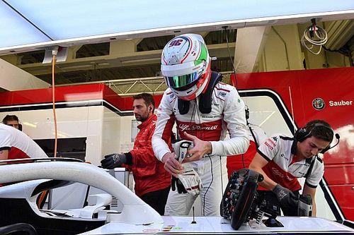Test Pirelli: Giovinazzi finisce 99 giri con la Sauber in Messico