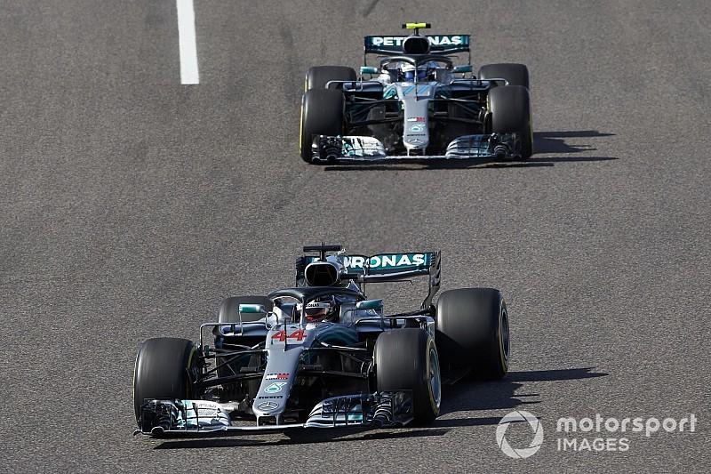 Mercedes: sostituita la pompa dell'acqua sulle W09 di Hamilton e Bottas