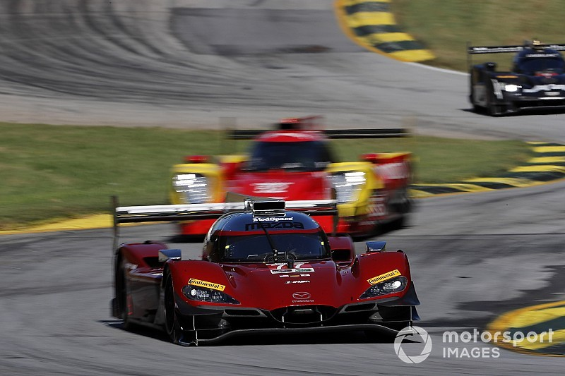 Petit Le Mans: Jarvis puts Mazda on top in FP4, Corvettes lead GTLM