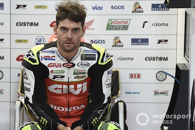 Crutchlow undergoes second operation after Australia crash
