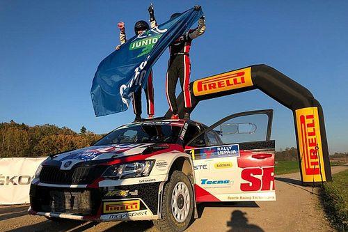 Nikolay Gryazin vince il Rally Liepāja ed è Campione ERC Junior Under 28
