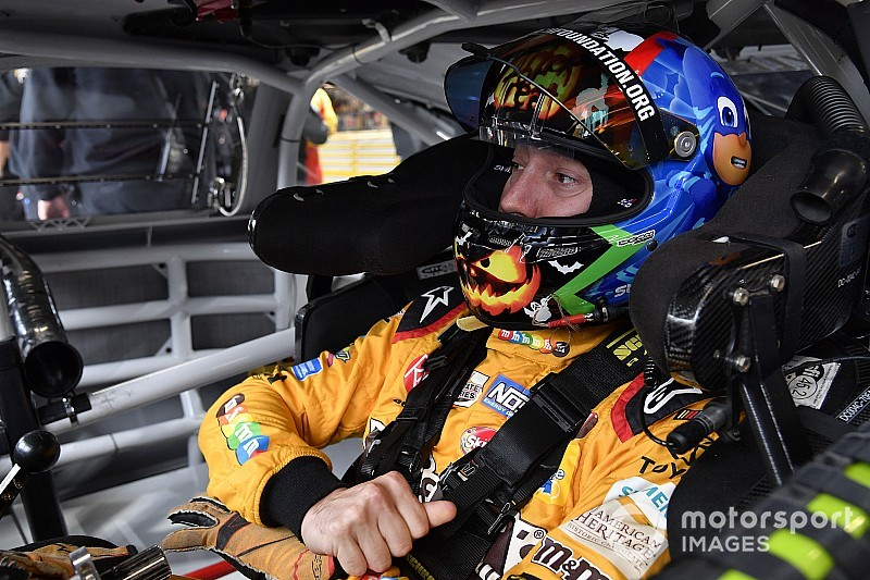"Kyle Busch ready to kick off his ""best round"" in NASCAR playoffs"