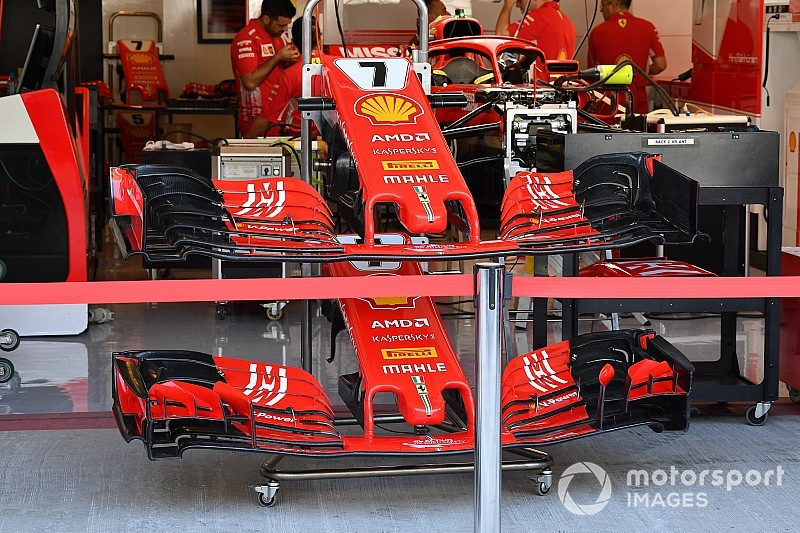 Für 2019: Ferrari testet in Abu Dhabi vereinfachten Frontflügel