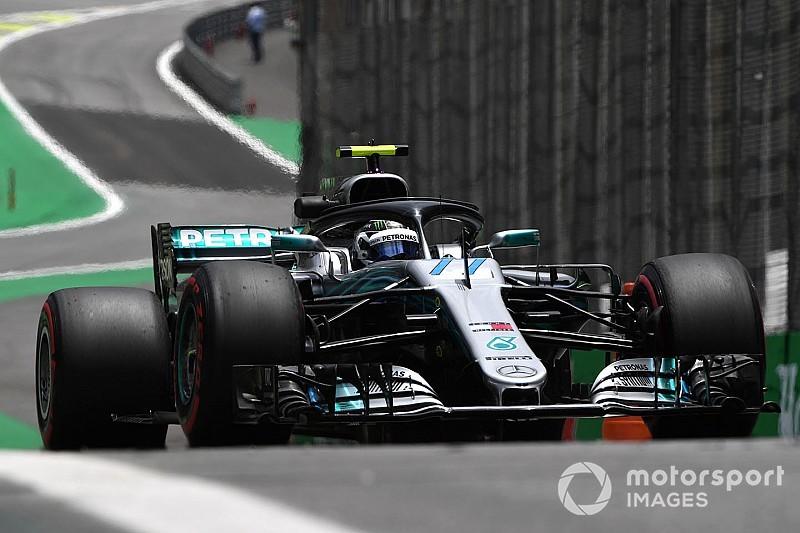 Brezilya GP 2. antrenman: Bottas, Hamilton'ın 0.003 saniye önünde lider!