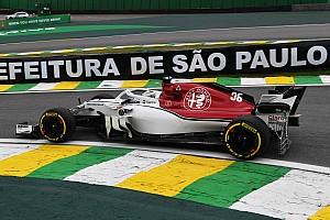 Fotogallery: l'Alfa Romeo Sauber nel Gran Premio del Brasile