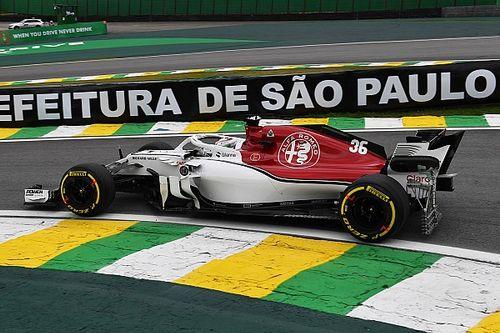 Diaporama: l'Alfa Romeo Sauber dans le Grand Prix du Brésil