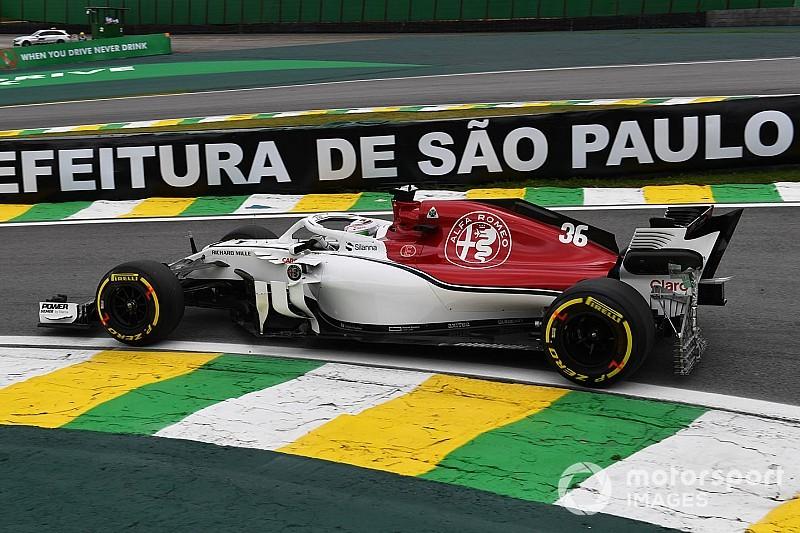 Fotostrecke: Der Alfa Romeo Sauber im Großen Preis von Brasilien