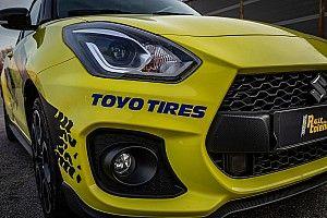 La Suzuki Swift Sport di ACI Rally Talent monterà gomme Toyo