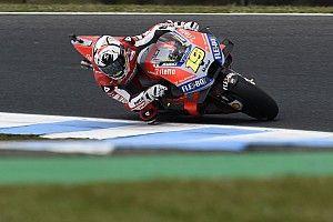 Hasil bagus Bautista lantaran Desmosedici GP18