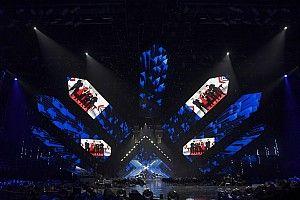 I colori della Ducati di Marini svelati alla finale di X-Factor