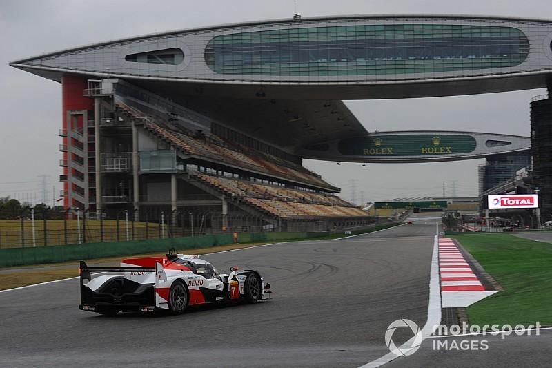 دبليو إي سي: تويوتا تحجز صف الانطلاق الأول في شنغهاي