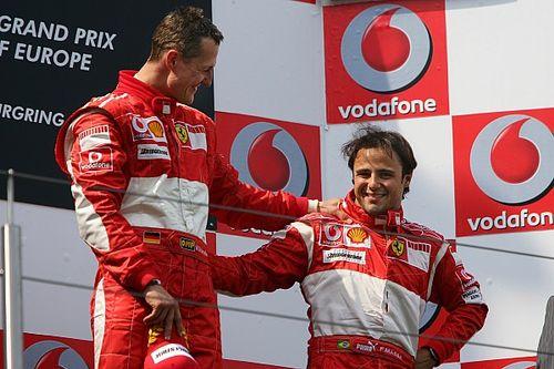 Massa diz que torce para que Schumacher se recupere para ver filho na F1