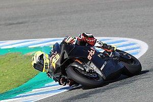 Bautista enseña los dientes en su primer test con la Ducati del WorldSBK