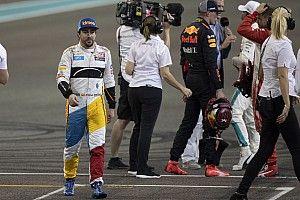 Las 15 despedidas del GP de Abu Dhabi 2018 de F1