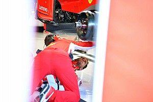 Schade hindert Vettel tijdens bandentest Abu Dhabi