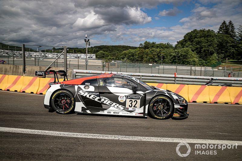 24h Spa, Libere: Audi-Team WRT subito al comando