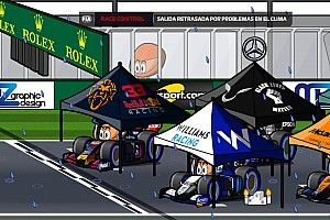 Vídeo: la 'no carrera' del Gran Premio de Bélgica 2021, por MiniDrivers
