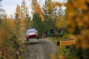 Finland WRC: Tanak leads as Hyundai surprises Toyota on morning loop