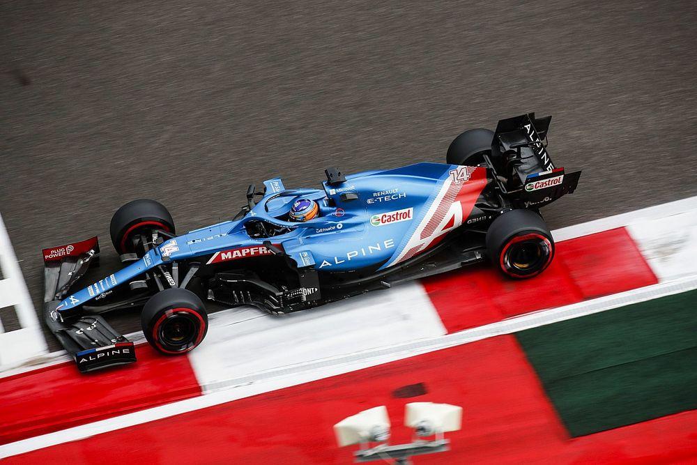 Alonso gagne en confiance, Ocon fait la grimace