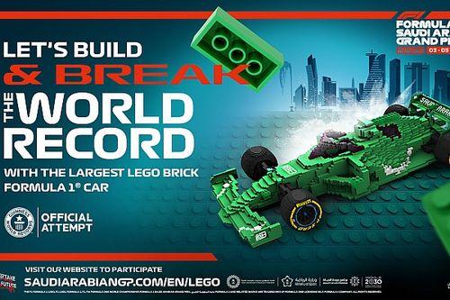 بناء أكبر مجسّم لسيارة فورمولا واحد في العالم من قبل الاتحاد السعودي للسيارات والدراجات النارية