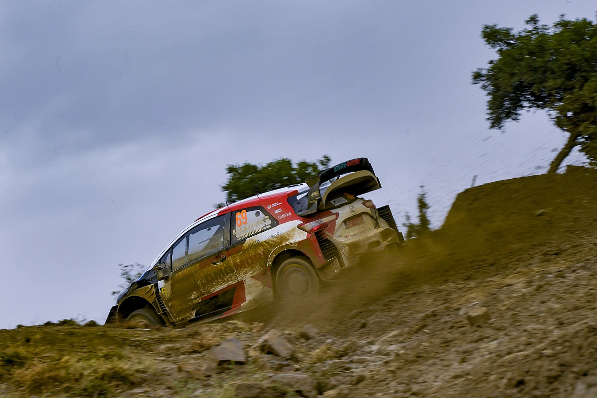 Photo of Greece WRC: Rovanpera leads, Evans and Neuville suffer dramas | Tom Howard