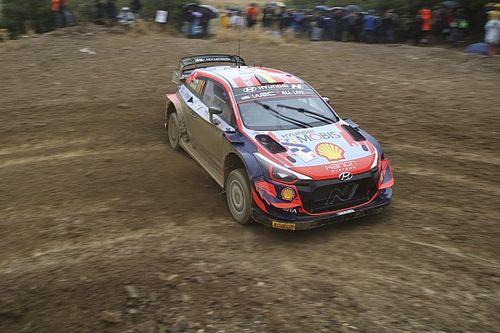 WRC, Rally Acropoli, PS14: Neuville sale nono