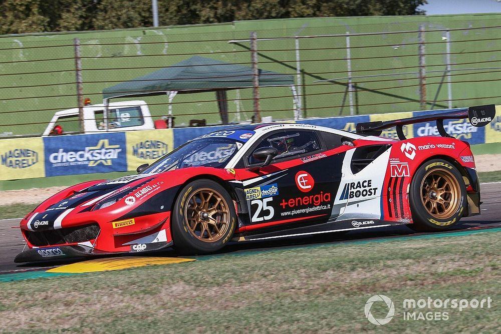 GT Sprint, Imola: doppia Pole per Di Amato con la Ferrari-RS