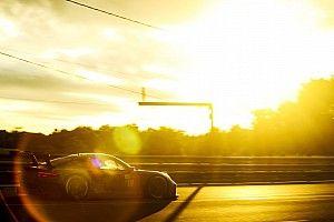 Fotos: el juego de luces del atardecer y el amanecer de Le Mans