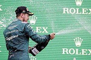 Russell a pontszerzés ellenére visszaesett az F1 erősorrendjében, Vettel is a top 10-ben!